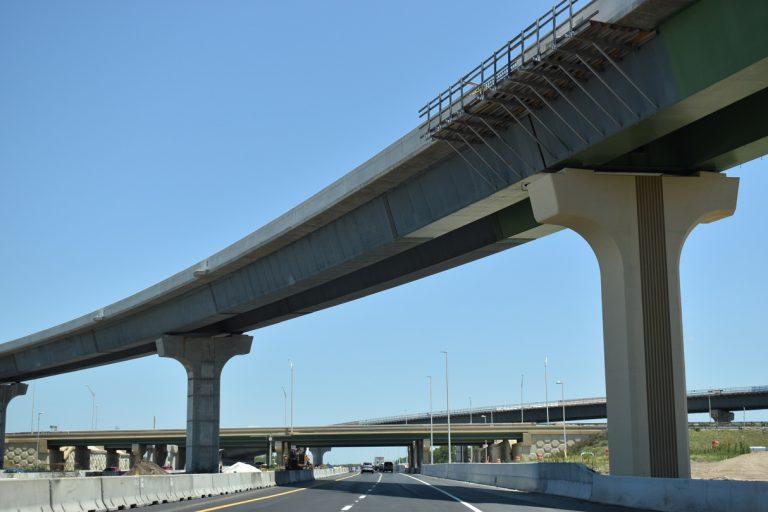 Florida's Turnpike north at SR 417 - Orlando, FL