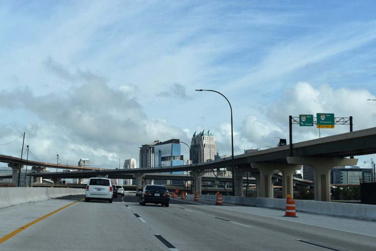 I-4 east at SR 408 - Orlando, FL