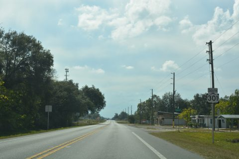 US 301 south of SR 575 - Trilacoochee, FL