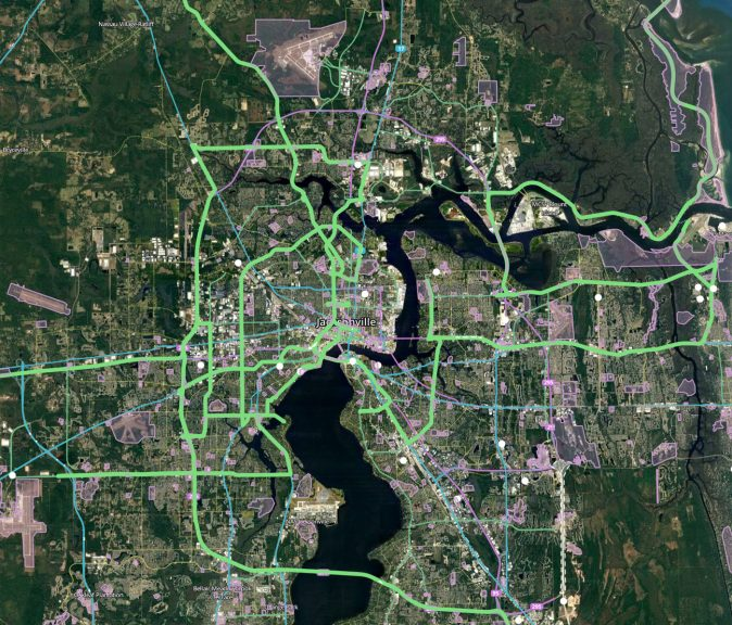 Waze Drive - Jacksonville, FL