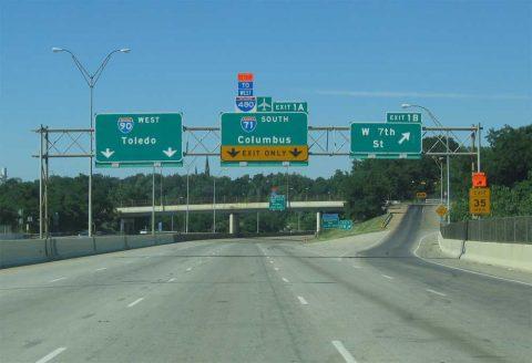 Cleveland Part 3, I-490 - AARoads
