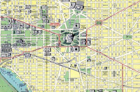 Washington D C 1942 Map Aaroads