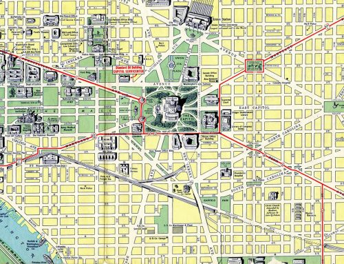 Washington, D.C. 1942 Map