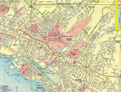 1946 Baltimore and 1956 Hawaii Maps