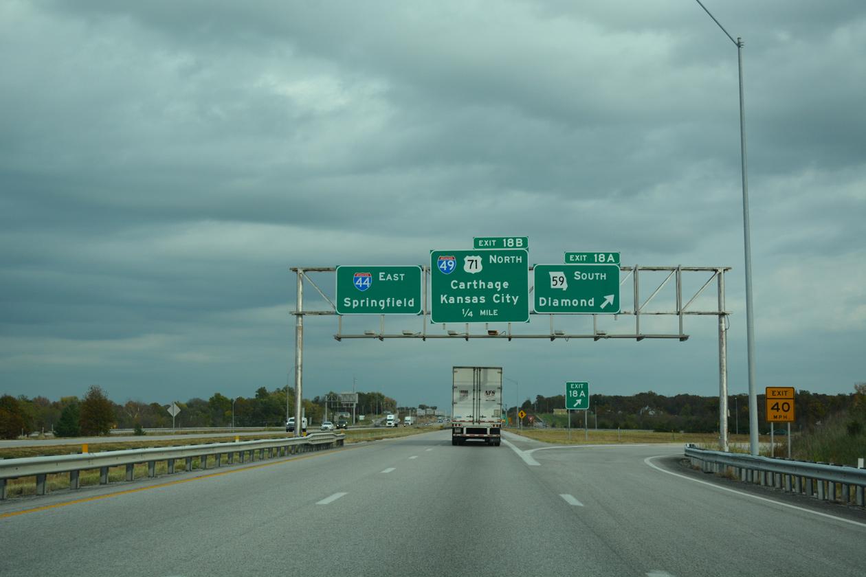 I-44/49 east split
