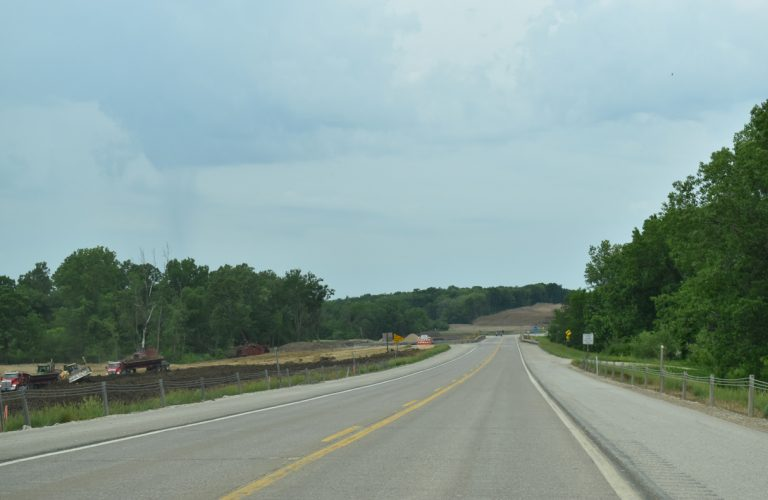 US 61 widening - Des Moines County, IA