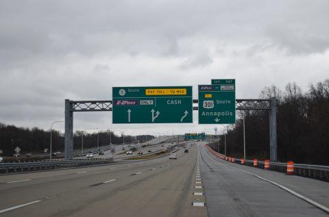 SR 1 south at US 301 - Biddles Corner, DE