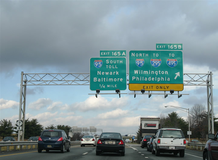 Delaware Traffic Map.Augmenting Delaware S Interstate 95 Aaroads