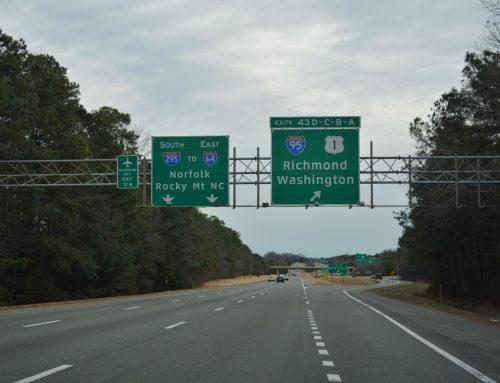 Updates July 1, 2020 – I-95 Corridor