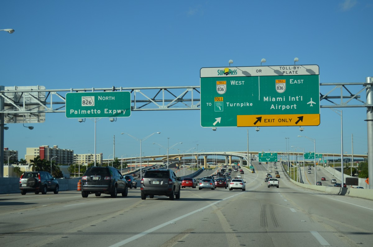Toll By Plate Florida >> South Florida Road Updates - January 23 - AARoads