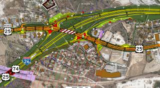I-26/US 25 Interchange Design - Fletcher, NC