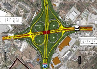I-26/US 64 Interchange Redesign - Hendersonville, NC