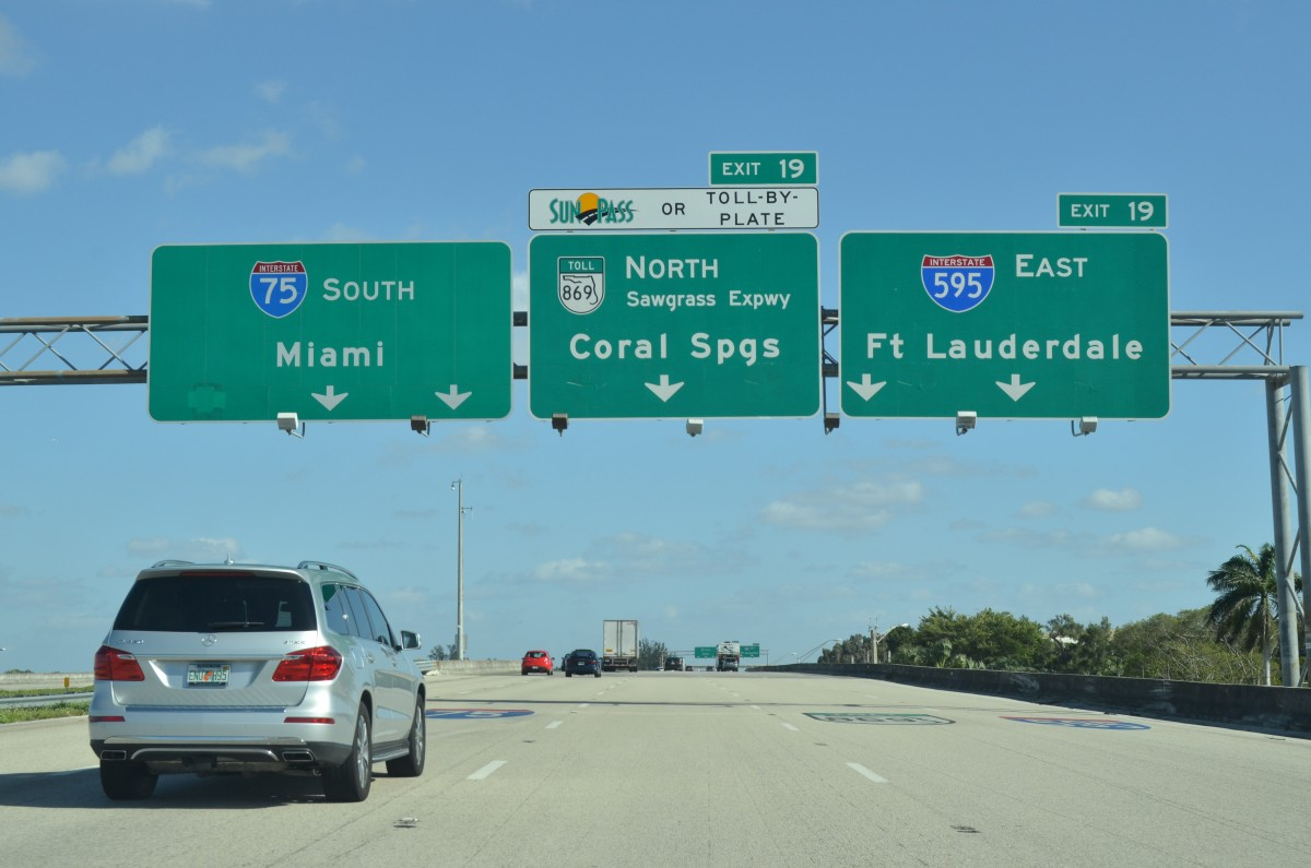 Florida Toll By Plate >> South Florida Road Updates January 23 Aaroads
