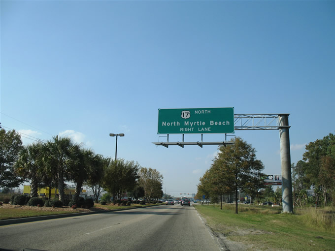 Highway  South North Myrtle Beach Sc