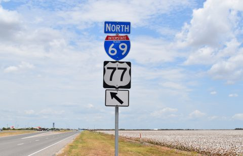 IH 69E/US 77 north of FM 2826 - Robstown, TX