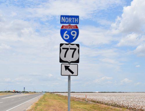 IH 69E Progress in South Texas