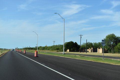 IH 69E construction - Willacy County, TX