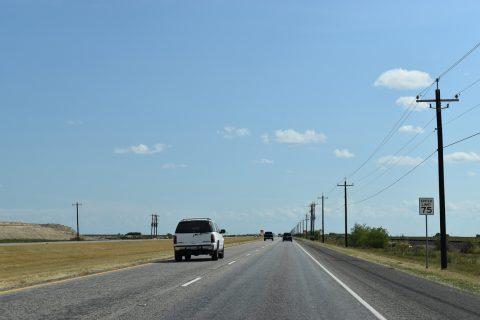 IH 69E construction south of FM 665 - Driscoll, TX