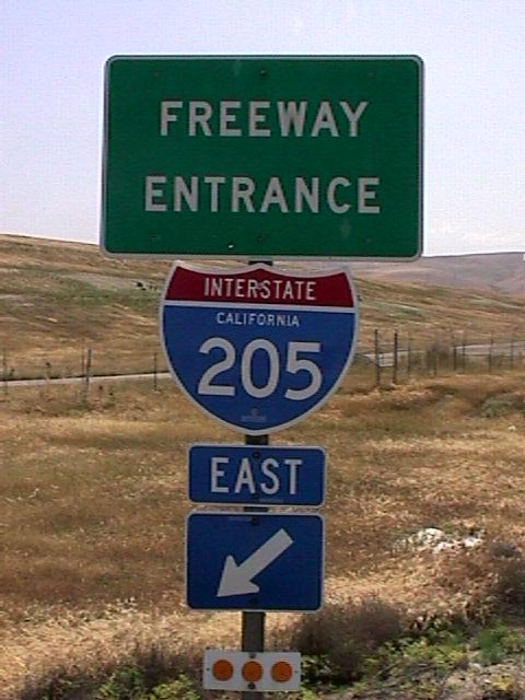 Interstate 205 - AARoads - California Highways