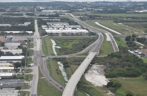 Pinellas County Road 296 at I-275 - St. Petersburg