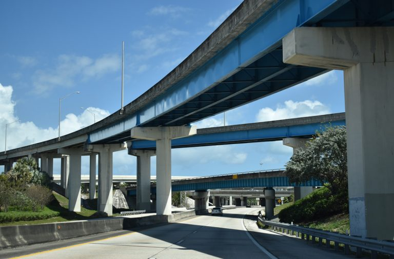 SR 112 east at 36th Street Interchange - Miami, FL