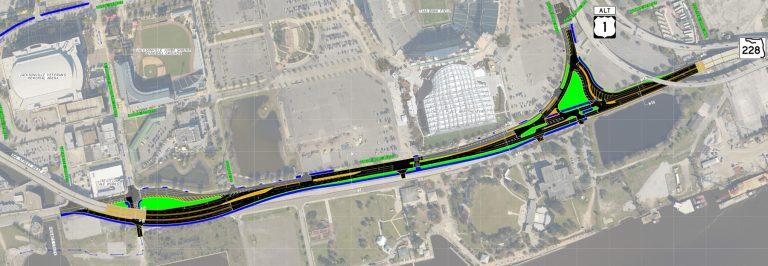 SR 228 / Hart Bridge Expwy removal - Jacksonville, FL