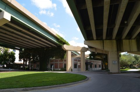 East-West Expressway viaducts - Downtown Orlando