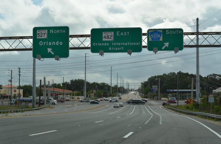 State Road 482 - Sand Lake Road / McCoy Road - AARoads ...