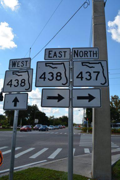 Franklin Street west at SR 437/438 - Ocoee, FL
