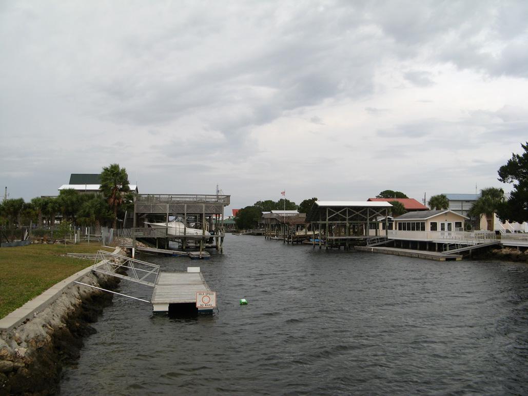 Canal at Keaton Beach, FL
