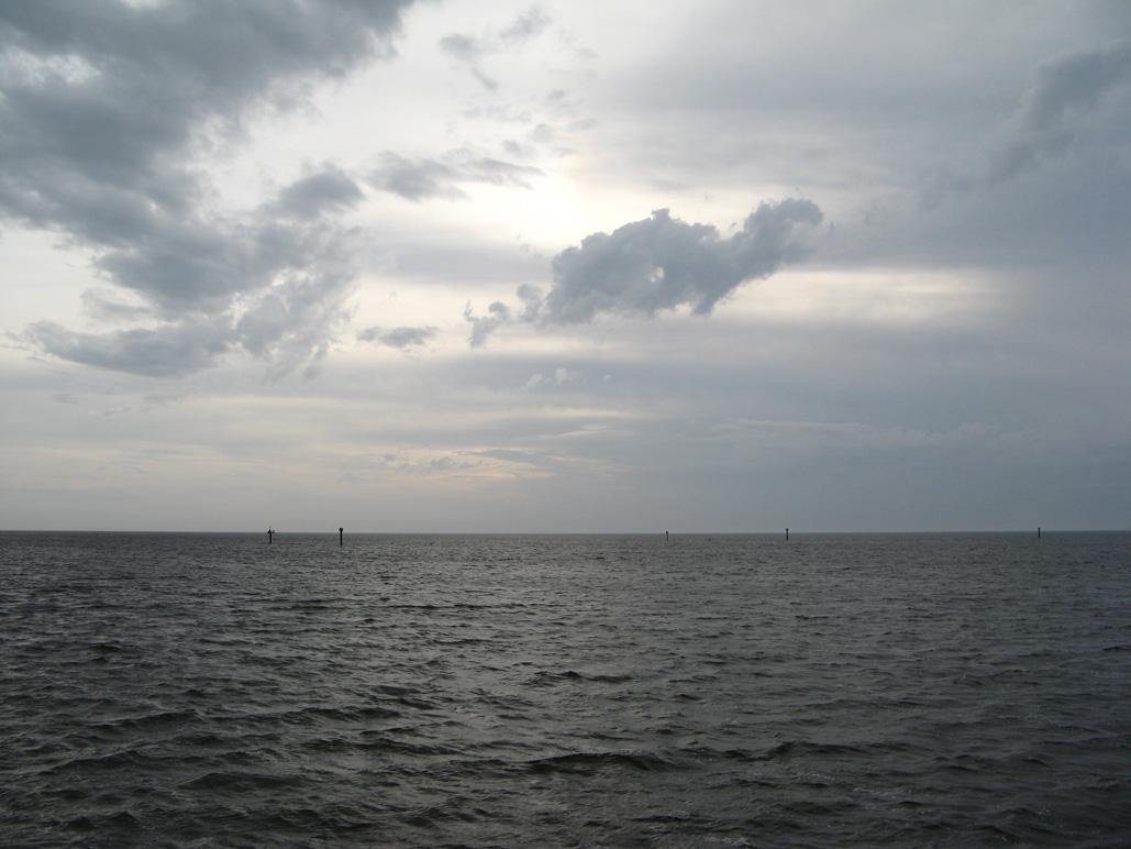 Gulf of Mexico from Keaton Beach, FL