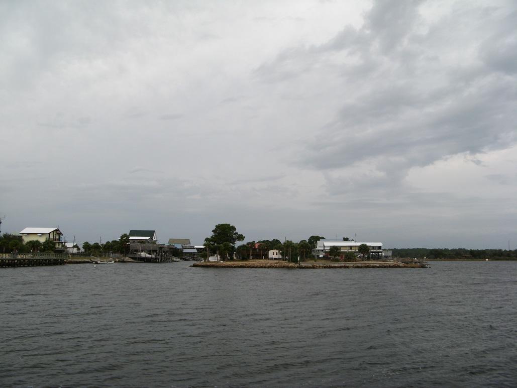 South end of Keaton Beach, FL