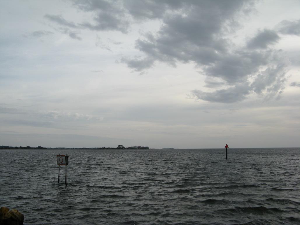 Dark Island from Keaton Beach, FL
