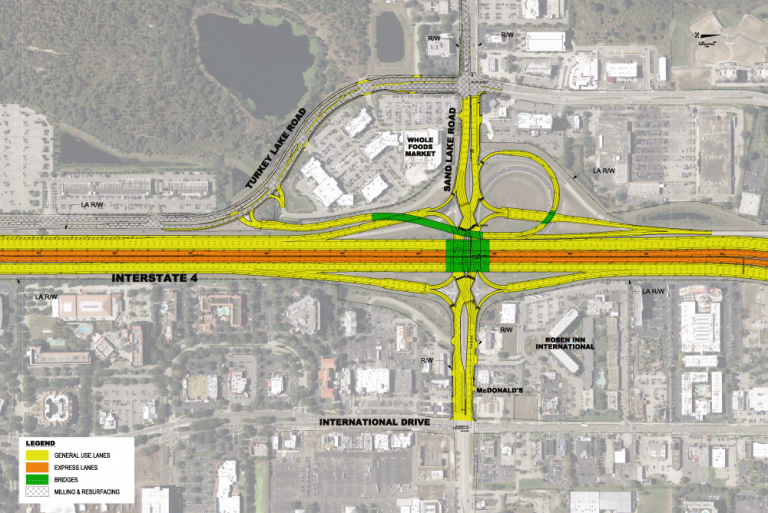 I-4 / SR 482 DDI Rendering