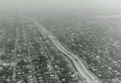 I-4 through YBor City in 1961