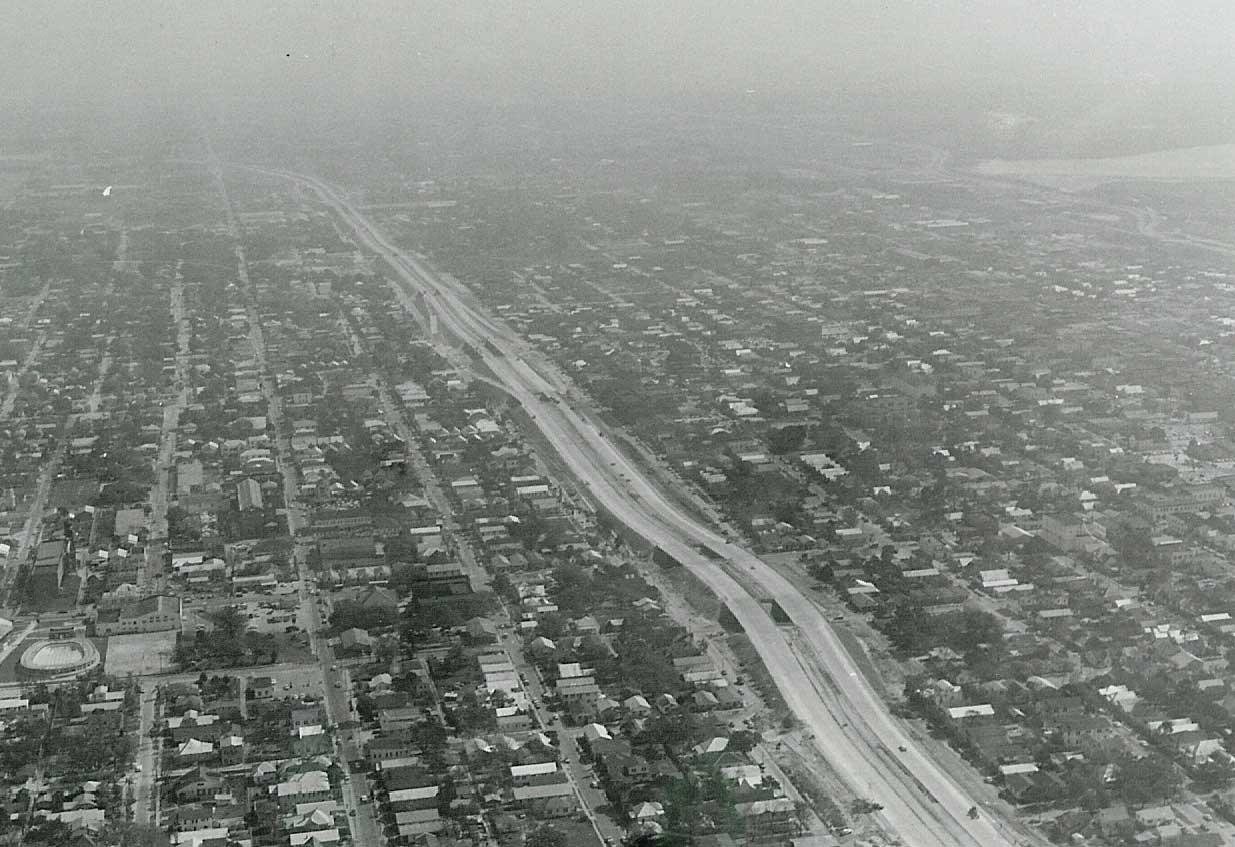 I-4 through YBor City in 1961