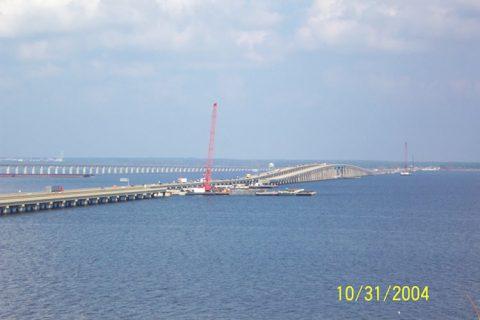 I-10 Escambia Bay Bridge repairs - 2004