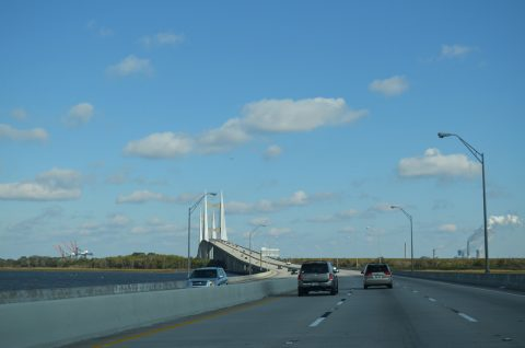 I-295 North - Dames Point Bridge