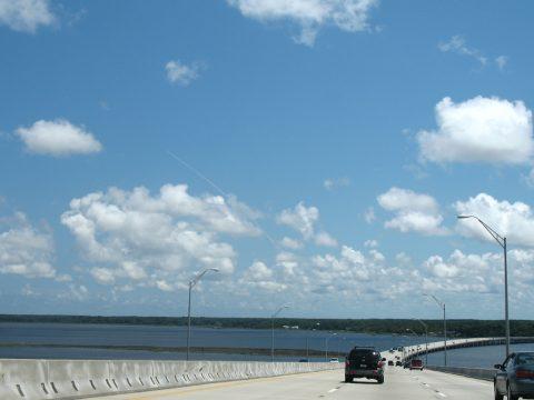 I-295 South - Dames Point Bridge