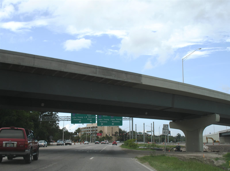 L.B. McLeod east at the I-4 flyover to CR 423