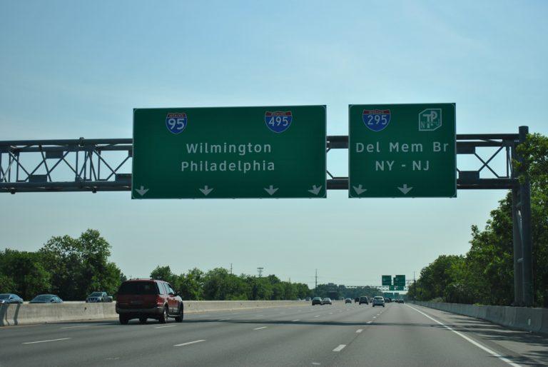 I-95 north Christina Marsh