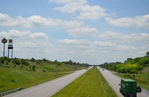 Business Loop I-35/US 36 at I-35/Route 110 - Cameron, MO
