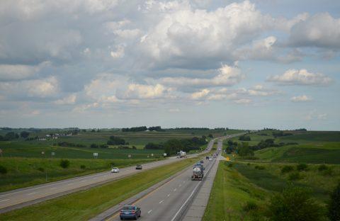 I-80 at CR L66 - Minden Twp, IA