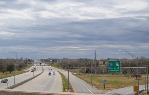 I-80/US 77 at I-180/US 34 - Lincoln, NE