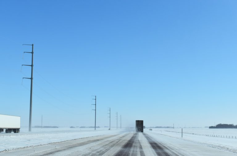 I-90 eastbound - Jackson County, MN