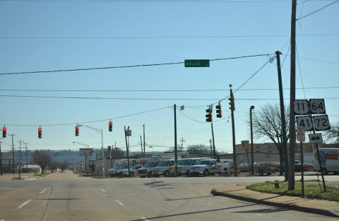 W 20th St at US 11-41-64-72 - Chattanooga, TN