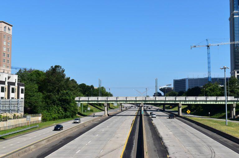 South Boulevard at I-277/U.S. 74 - Charlotte, NC