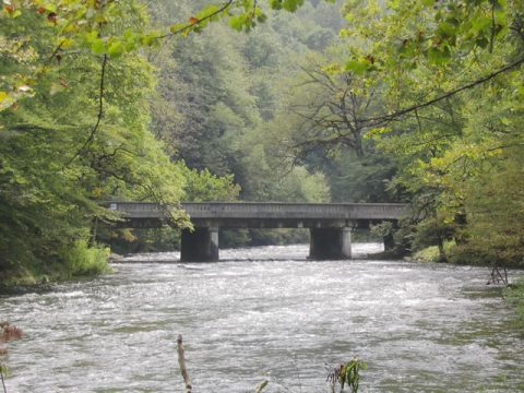 U.S. 19 & 74 - Nantahala River Bridge