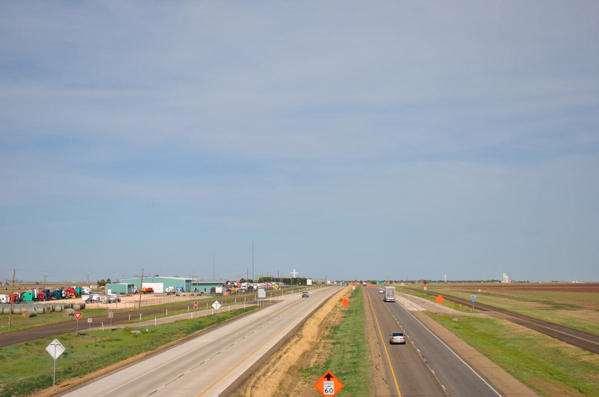I 40 Oklahoma Map.Interstate 40 Aaroads Texas Highways