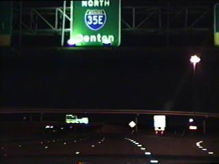 IH 35E north at IH 635.